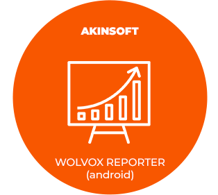 AKINSOFT WOLVOX REPORTER (ANDROİD)